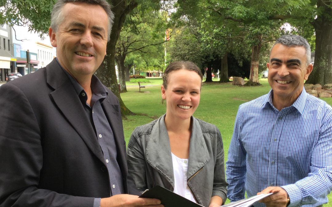 CHESTER THROWS SUPPORT BEHIND OMEO MOUNTAIN BIKE TRAIL