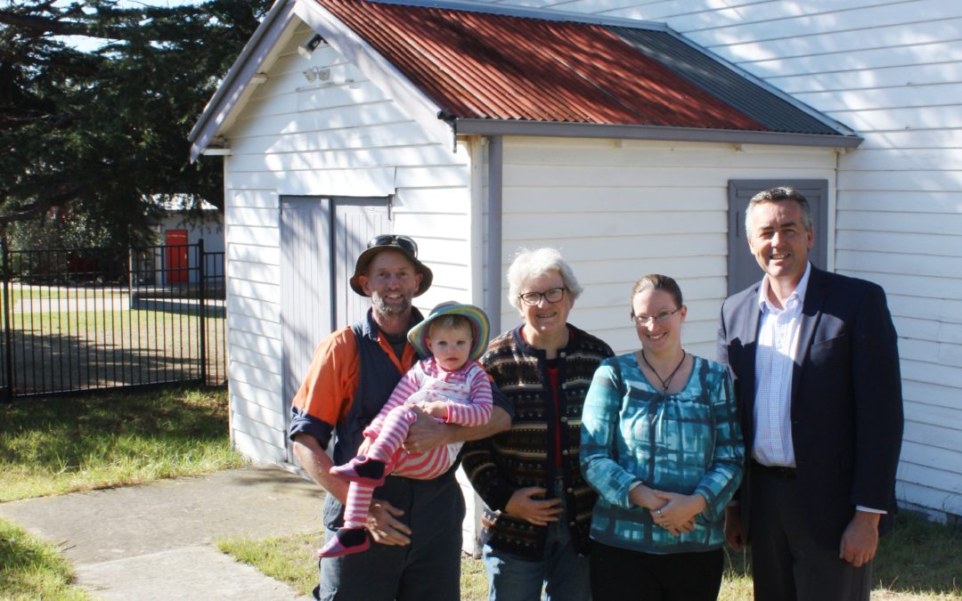 A FRESH START FOR EAGLE POINT'S COMMUNITY HALL