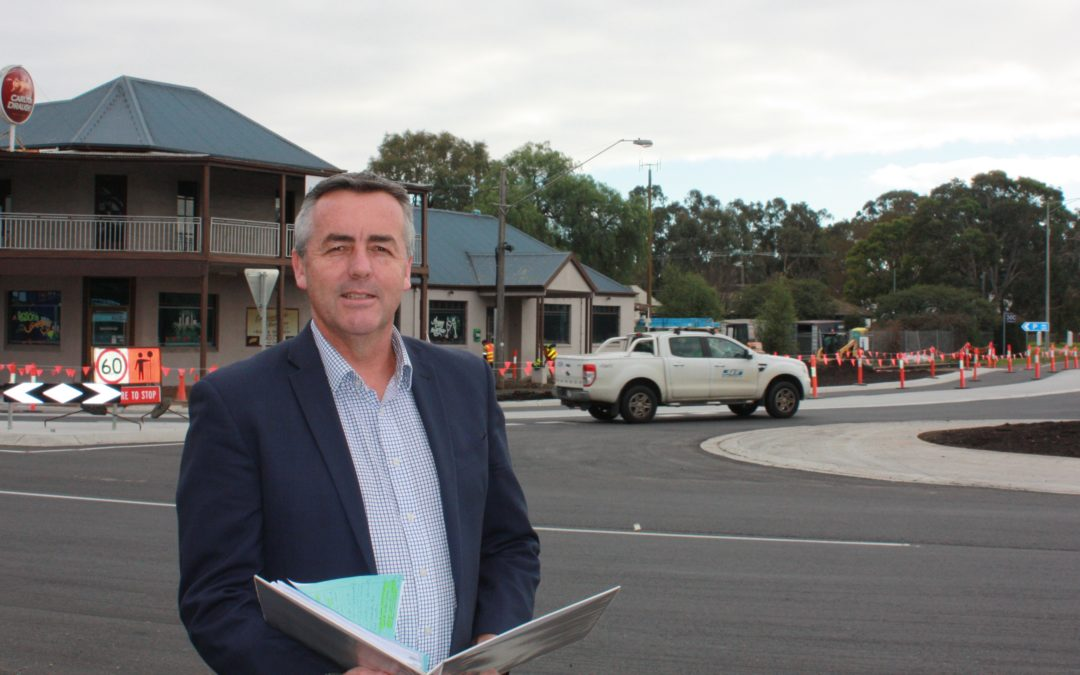 ROSEDALE ROUNDABOUT NEARING COMPLETION