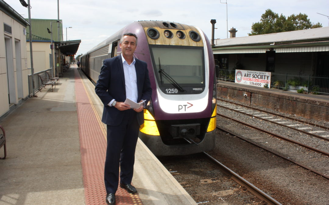GIPPSLAND RAIL LINE UPGRADE EARLY WORKS ON TRACK