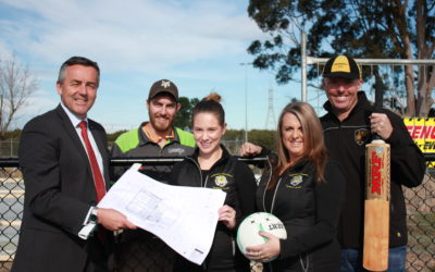 MORWELL NETBALL PAVILLION GETS UNDERWAY