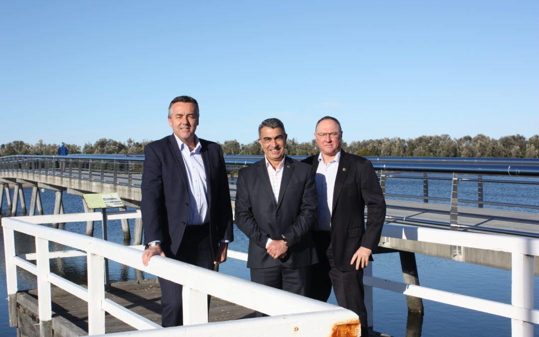 BRIDGE FACELIFT FINISHED AT LAKES ENTRANCE