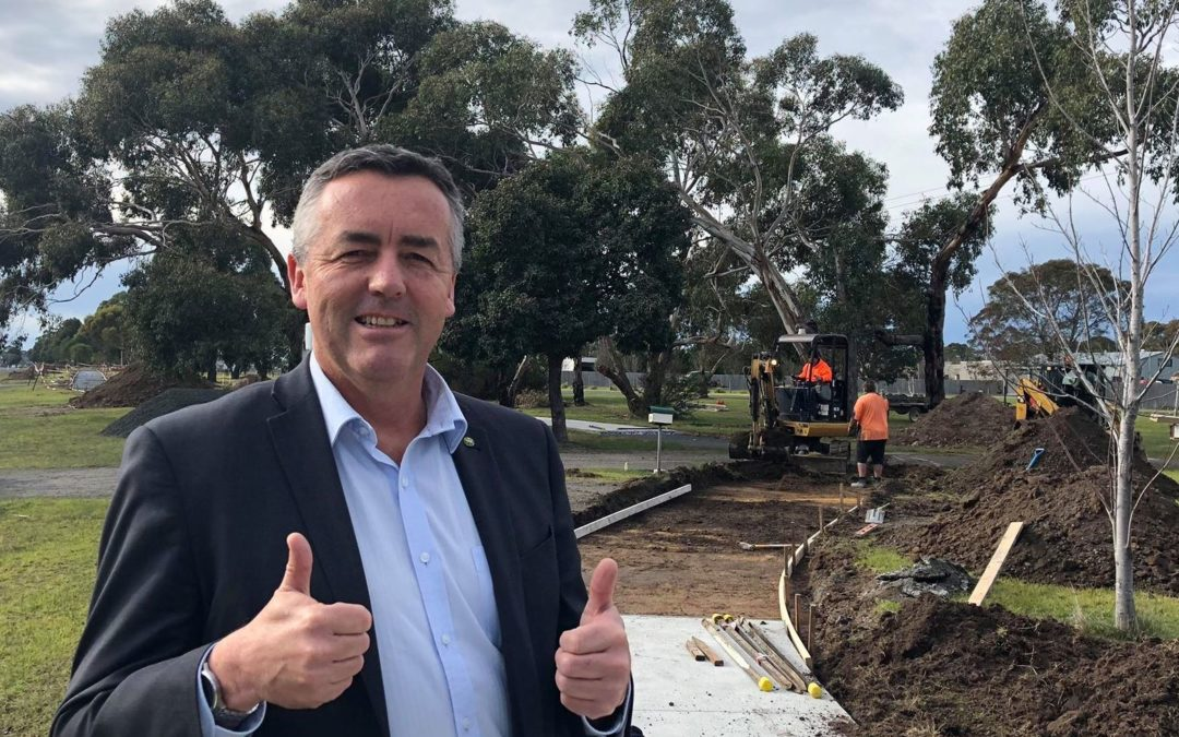 MORWELL-TRARALGON SHARED PATHWAY TAKING SHAPE
