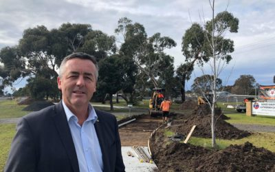 WORK ON TRARALGON-MORWELL PATHWAY REACHES KAY STREET
