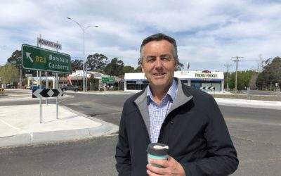 NEW ROUNDABOUT ENCOURAGES DRIVERS TO STOP IN CANN RIVER