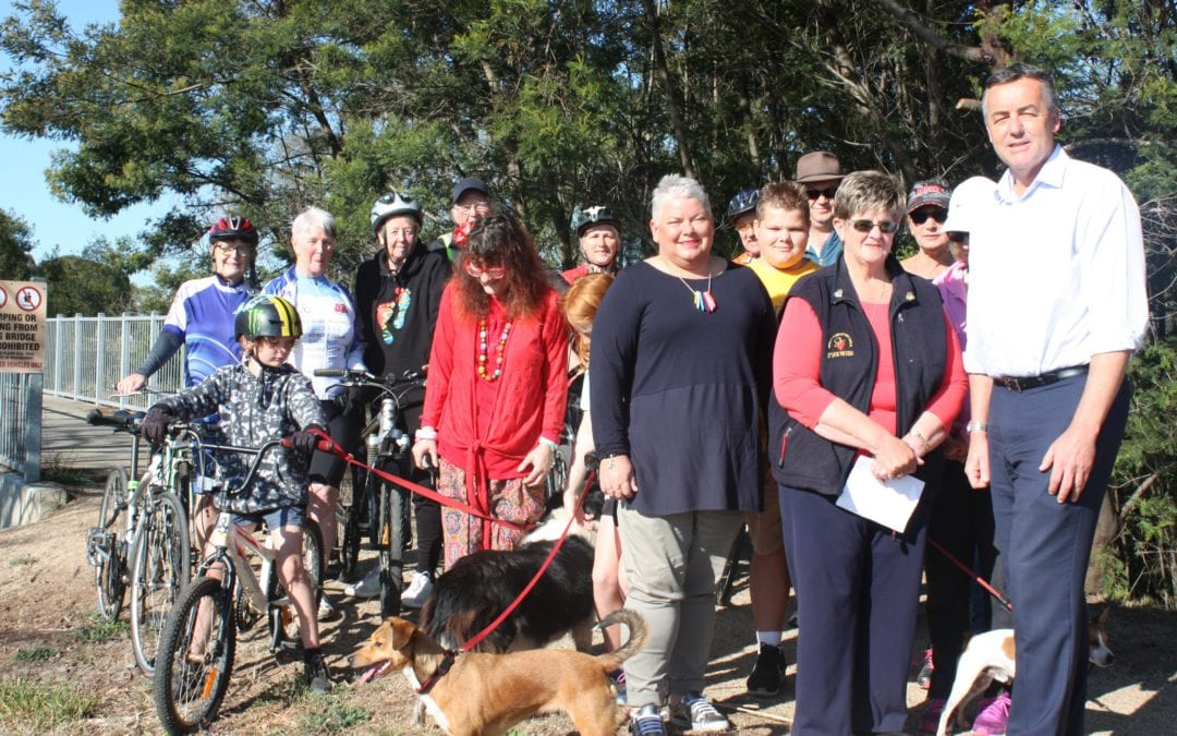 CALLS TO SUPPORT GIPPSLAND PLAINS RAIL TRAIL UPGRADE
