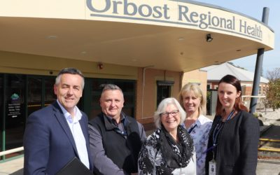 WORKING TO EASE ORBOST'S DOCTOR SHORTAGE