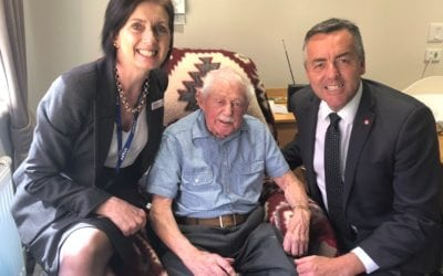100TH BIRTHDAY FOR LOCAL ARMY VETERAN