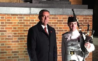 NEW LIONS UNVEILED AT THE MENIN GATE IN IEPER