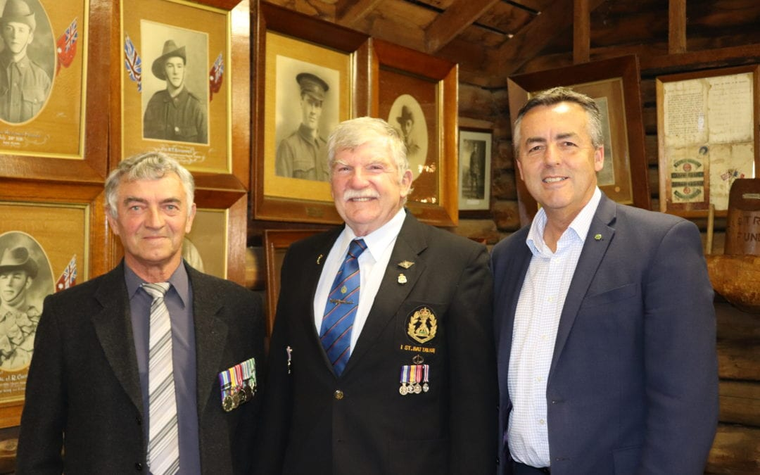 LOCAL VETERANS RECEIVE UNIT CITATION FOR GALLANTRY