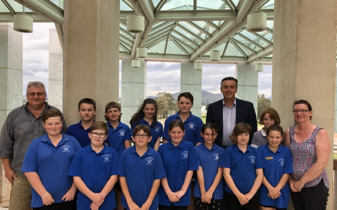 LINDENOW SOUTH PS VISITS CANBERRA