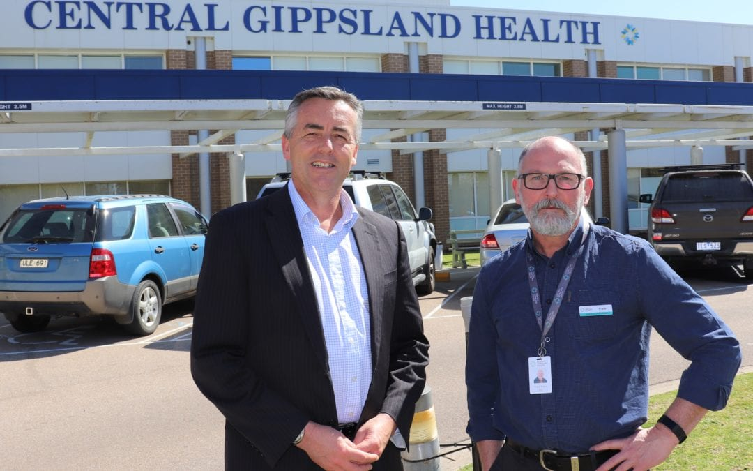 HEALTH FUNDING FOR GIPPSLAND HOSPITALS JUMPS BY UP TO 50%