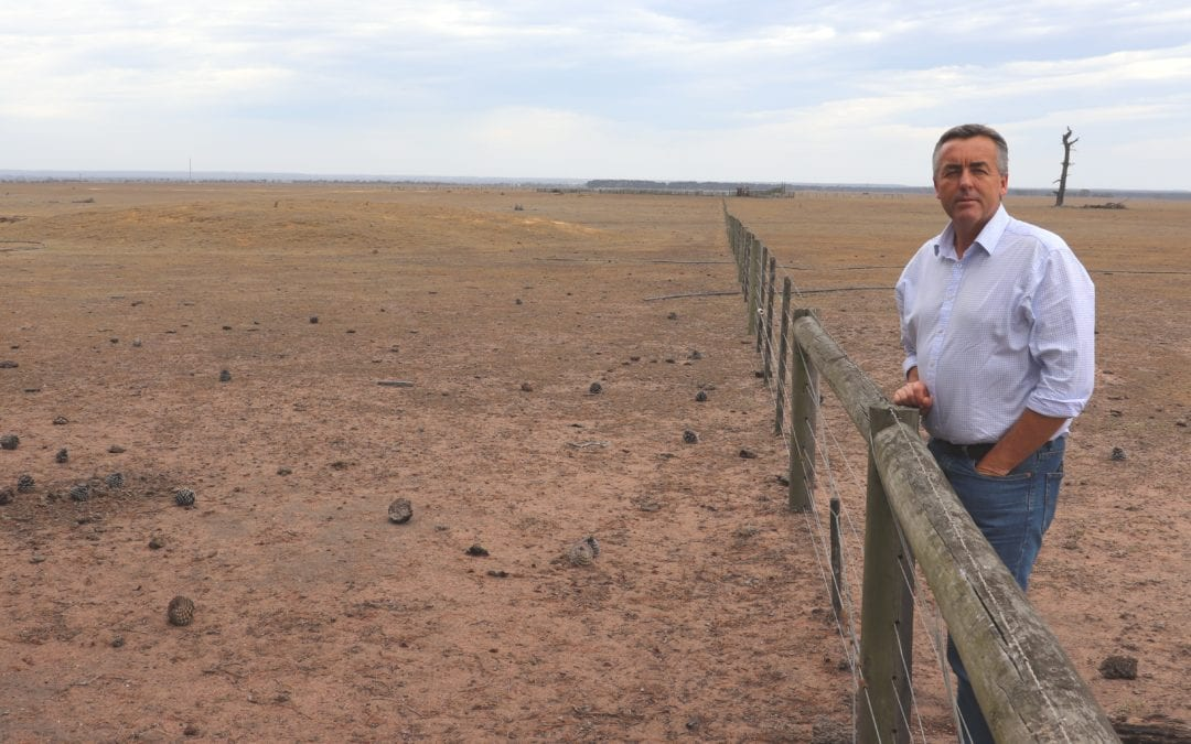 ANDREWS GOVERNMENT MUST SIGN UP TO DROUGHT REBATE SCHEME