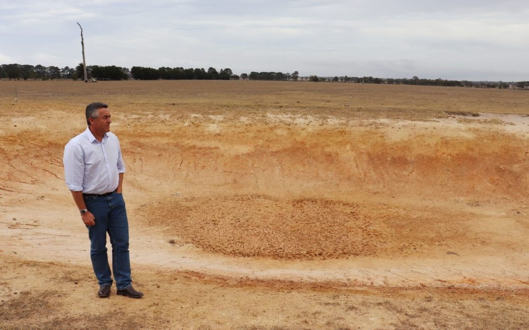 MORE HELP NEEDED AS GIPPSLAND'S DROUGHT CRISIS DEEPENS
