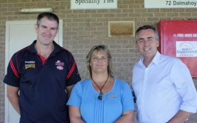 UPGRADING CHANGEROOMS AT BAIRNSDALE OVAL