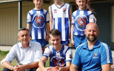 BOOST FOR COMBINED SAINTS JUNIOR FOOTBALLERS