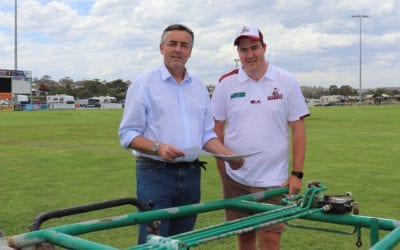 KITCHEN UPGRADE AT LAKES RECREATION RESERVE
