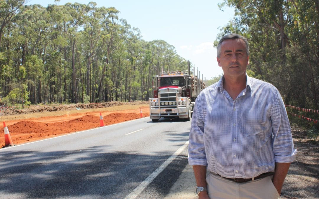 $50 MILLION PRINCES HIGHWAY WORKS NEAR HALFWAY MARK