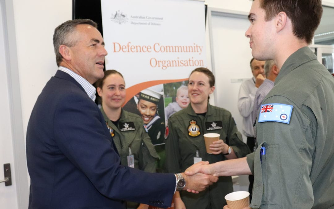 CHESTER WELCOMES NEW MEMBERS TO RAAF BASE EAST SALE