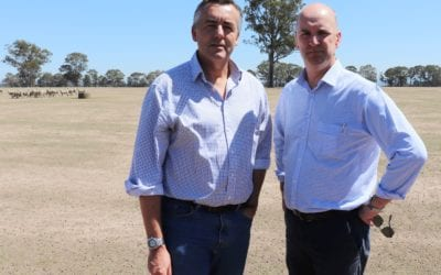 FARMERS URGED TO APPLY FOR WATER INFRASTRUCTURE REBATE