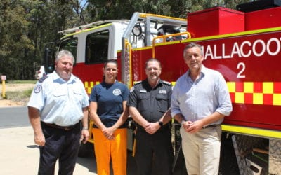 NEW FIRE FIGHTING POWER FOR MALLACOOTA