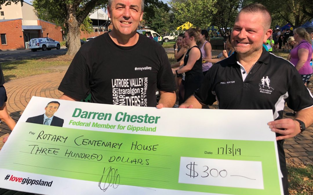 FUN RUN RAISES MONEY FOR CENTENARY HOUSE
