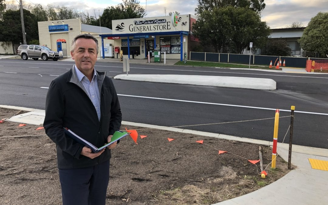 PRINCES HIGHWAY WORKS NEARING COMPLETION AT SWAN REACH