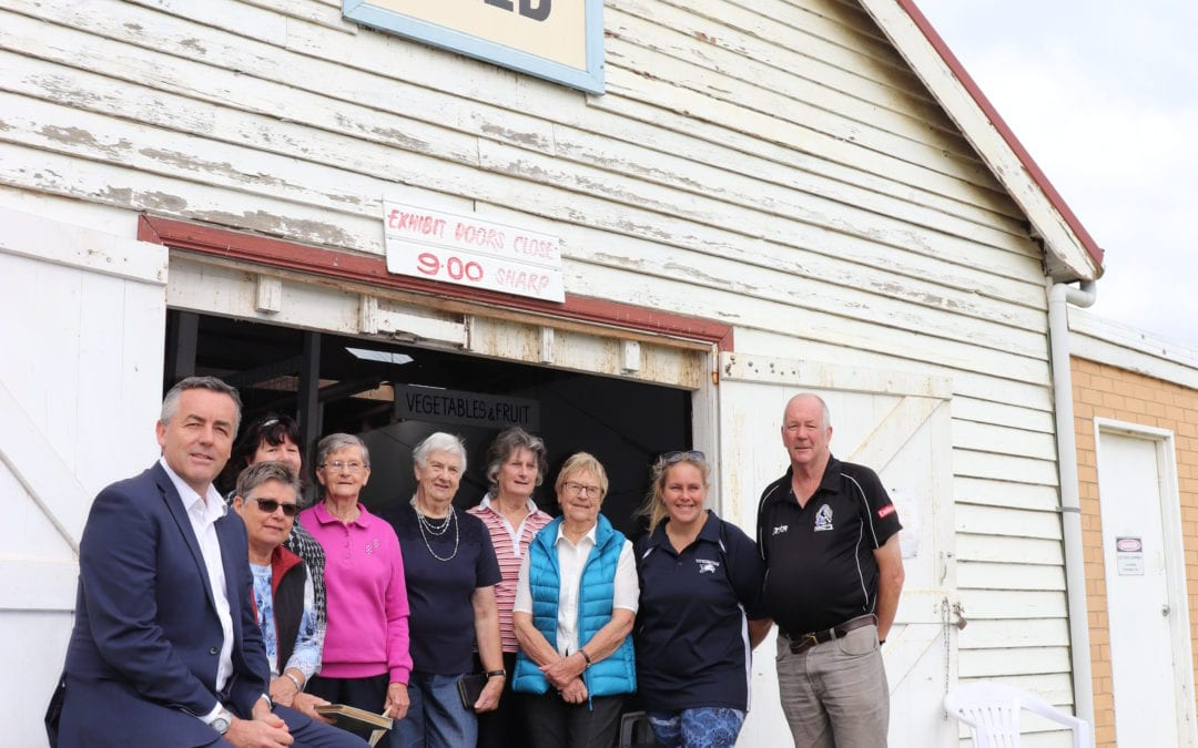 $250,000 FOR NEW EXHIBITION SHED AT YARRAM SHOWGROUNDS