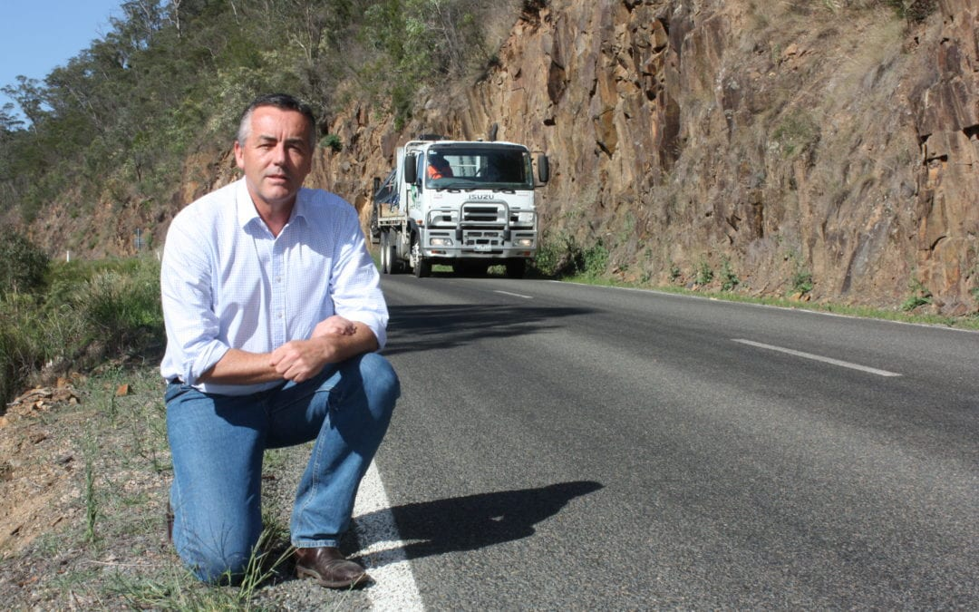 WORKS START ON GREAT ALPINE ROAD AT BULLOCKY CREEK