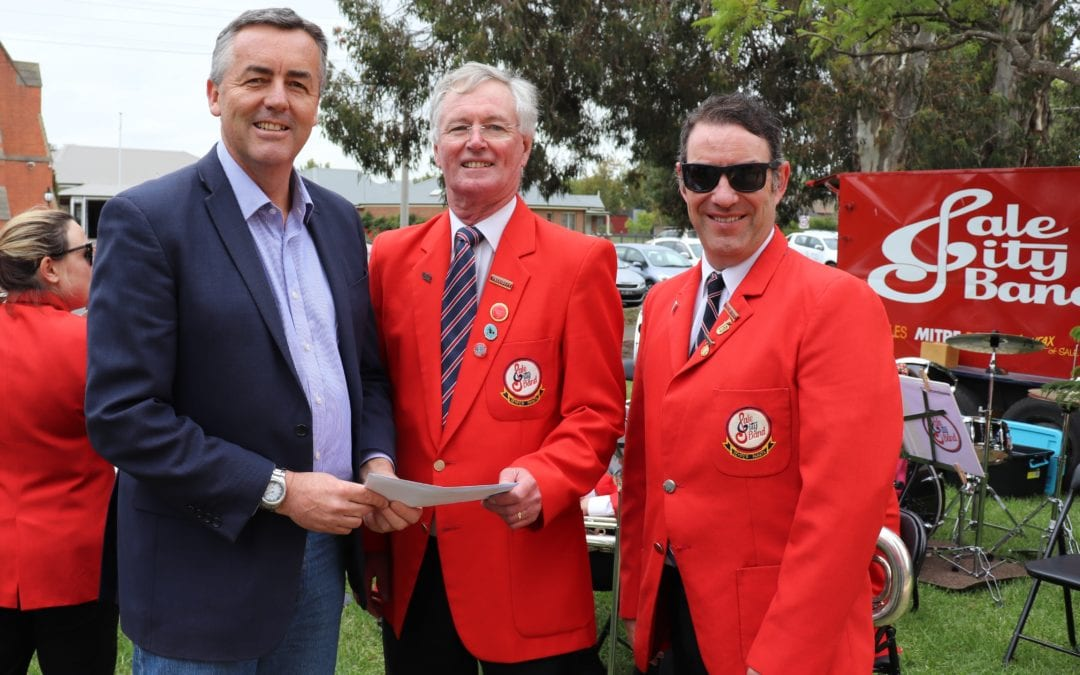 A $35,000 HELPING HAND FOR VOLUNTEERS IN GIPPSLAND'S HEART