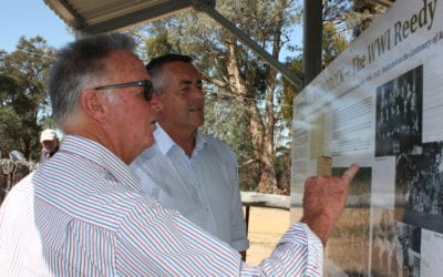 FUNDING FOR ENSAY AND SWIFTS CREEK TO REMEMBER WWI