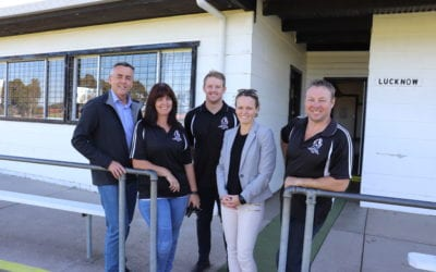 $500,000 FOR LUCKNOW CHANGEROOMS AND NETBALL COURT