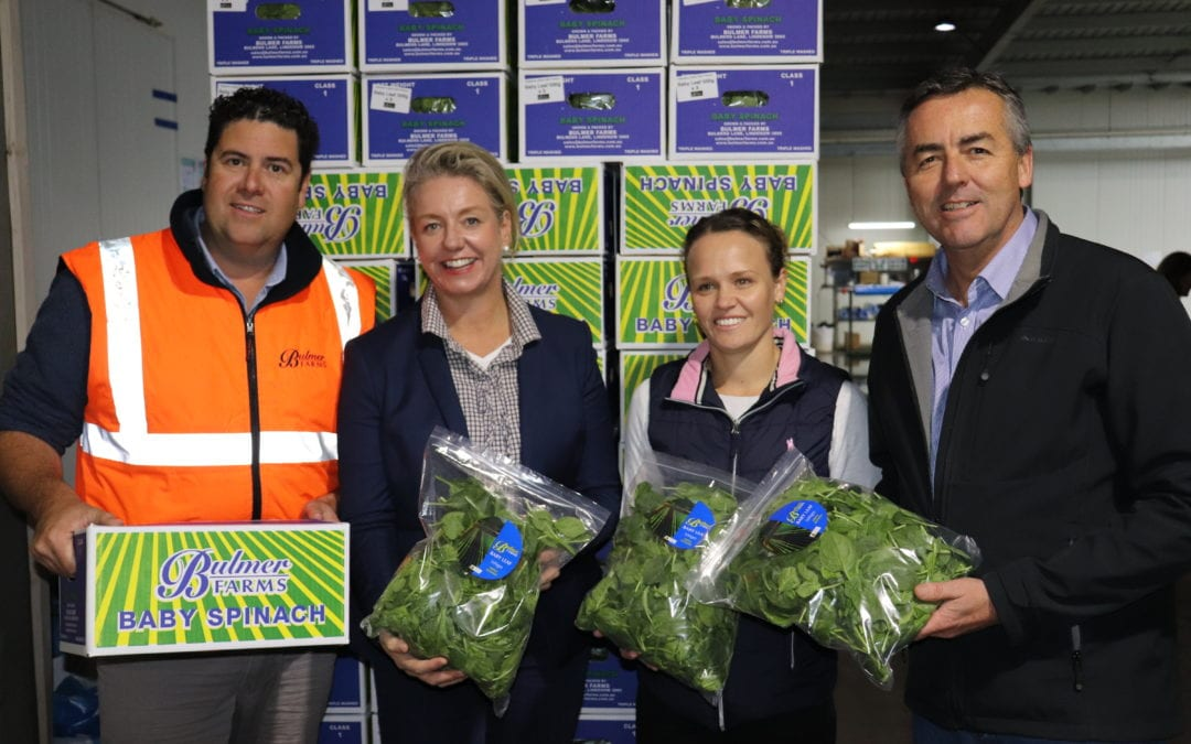 NEW AGRICULTURE MINISTER VISITS GIPPSLAND