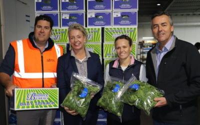 NEW AGRICULTURE MINISTER VISITS GIPPSLAND