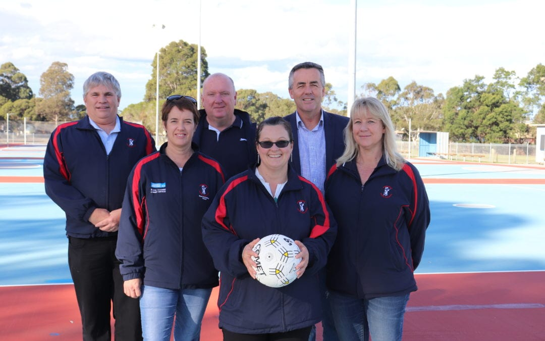 BAIRNSDALE NETBALL UPGRADE NEEDED