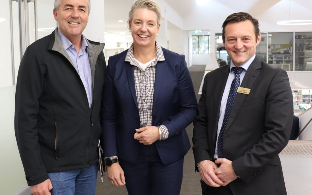 LATROBE CITY MEETS AUSTRALIA'S NEW AGRICULTURE MINISTER