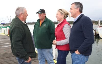 LAKES ENTRANCE FIRST STOP FOR NEW AGRICULTURE MINISTER