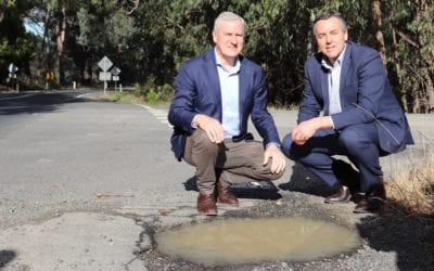 CHESTER TAKES TRANSPORT MINISTER ALONG THE HYLAND HWY