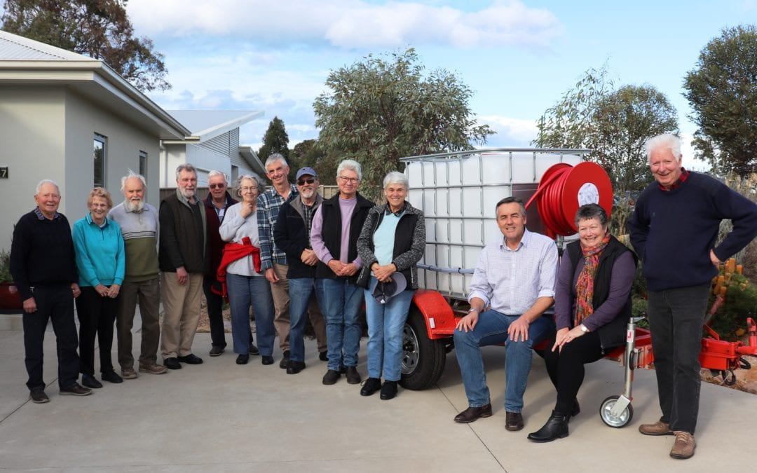 WATER CART FOR EASTWOOD LANDCARE