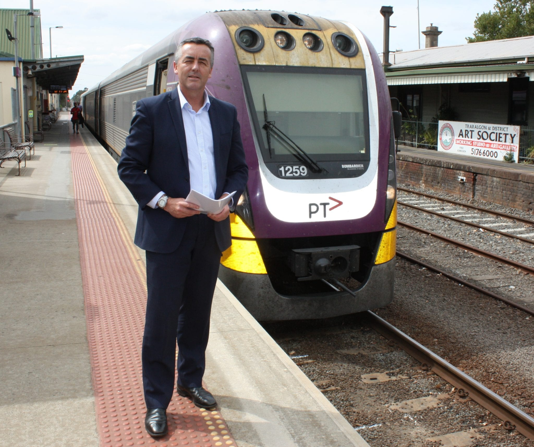 GROWING IMPATIENCE LEADS TO REQUEST TO GET RAIL WORKS UNDERWAY