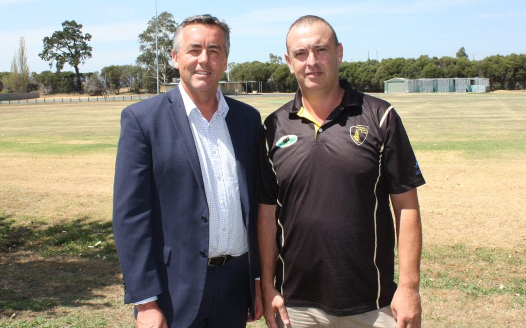 CONTRACTOR APPOINTED FOR KEEGAN STREET RESERVE