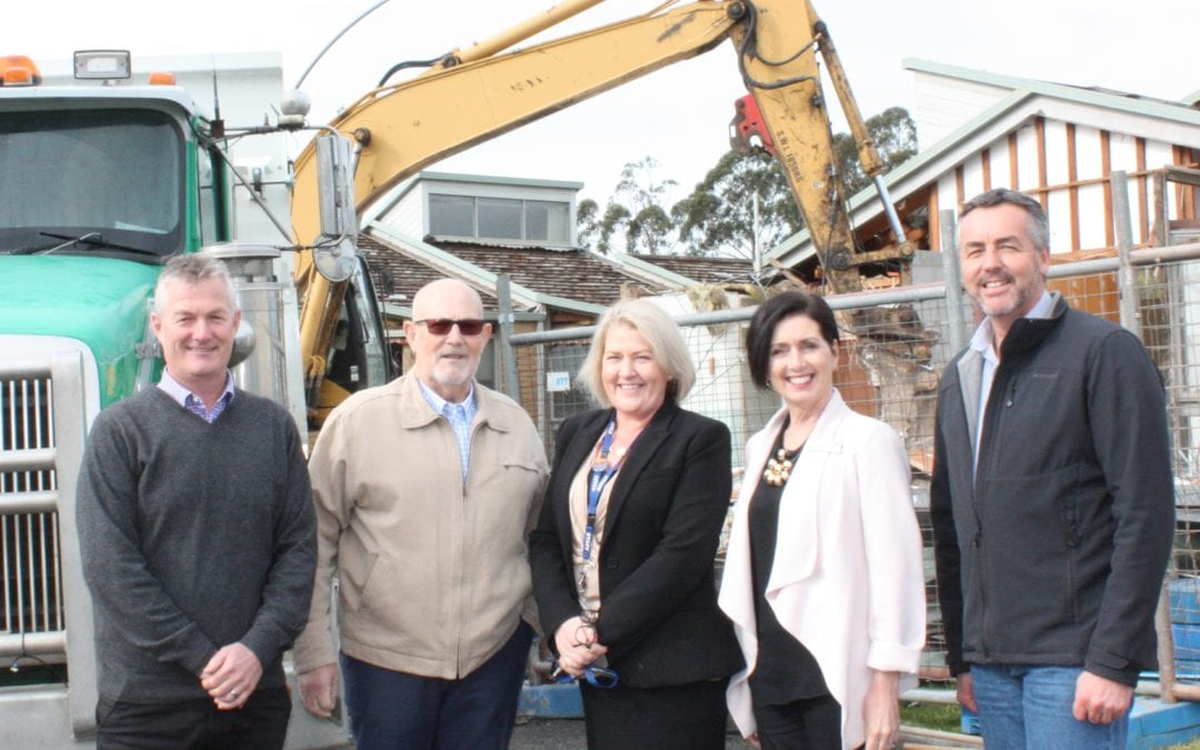 $2.9 MILLION UPGRADE GETS UNDERWAY AT YALLAMBEE