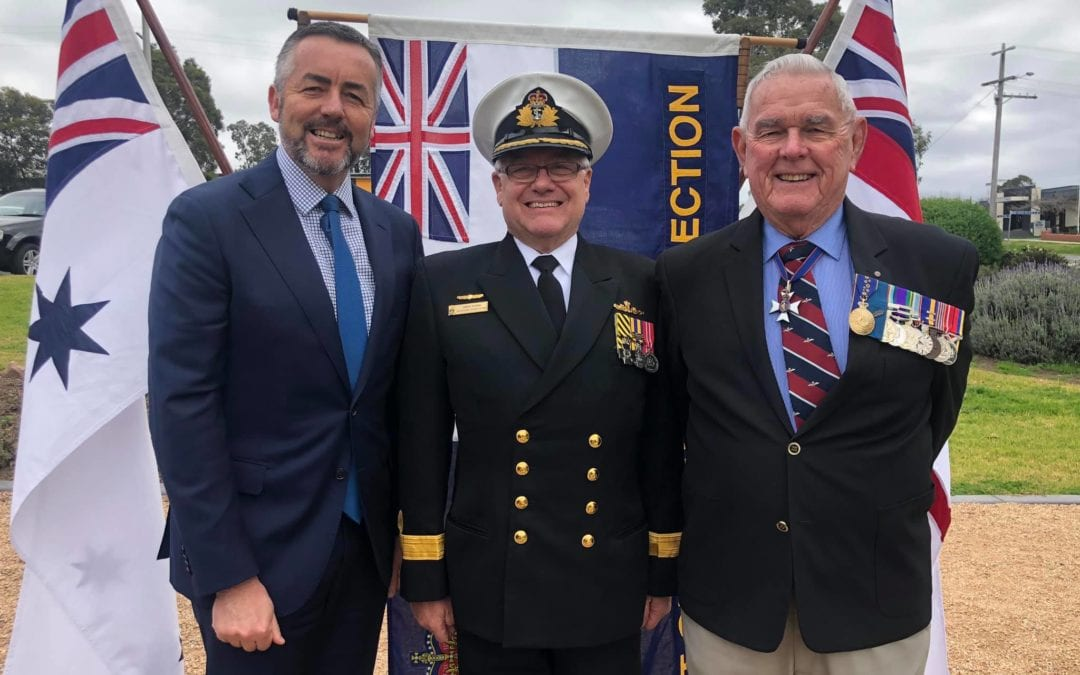 CHESTER ATTENDS COMMEMORATIVE SERVICE FOR NAVY PERSONNEL