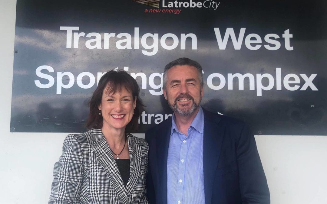 OFFICIAL OPENING OF TRARALGON WEST SPORTING COMPLEX