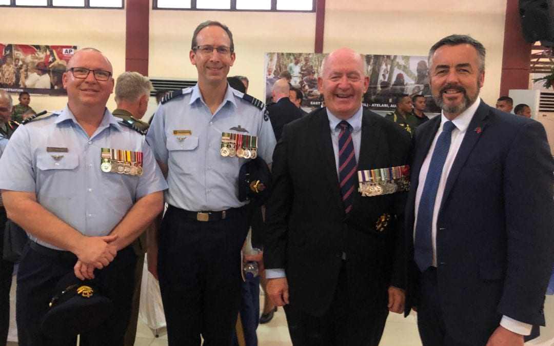 INTERFET 20TH ANNIVERSARY CELEBRATIONS BRINGS BACK RAAF BASE EAST SALE PERSONNEL