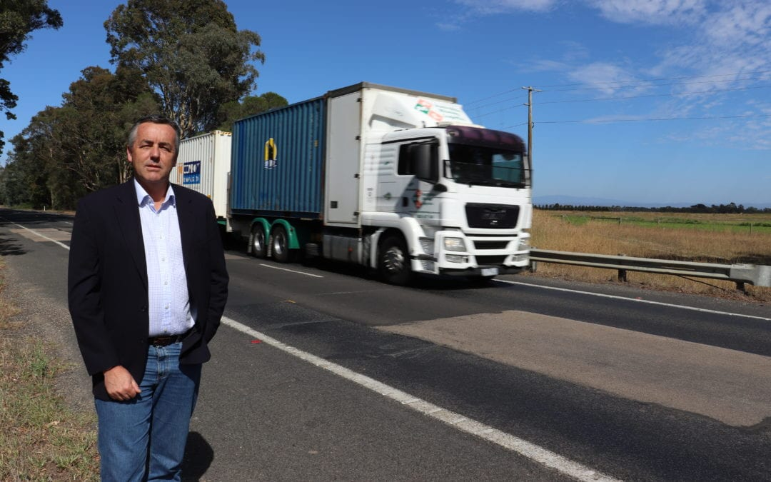 CHESTER CALLS FOR FEDERAL GOVERNMENT TO FINISH PRINCES HIGHWAY