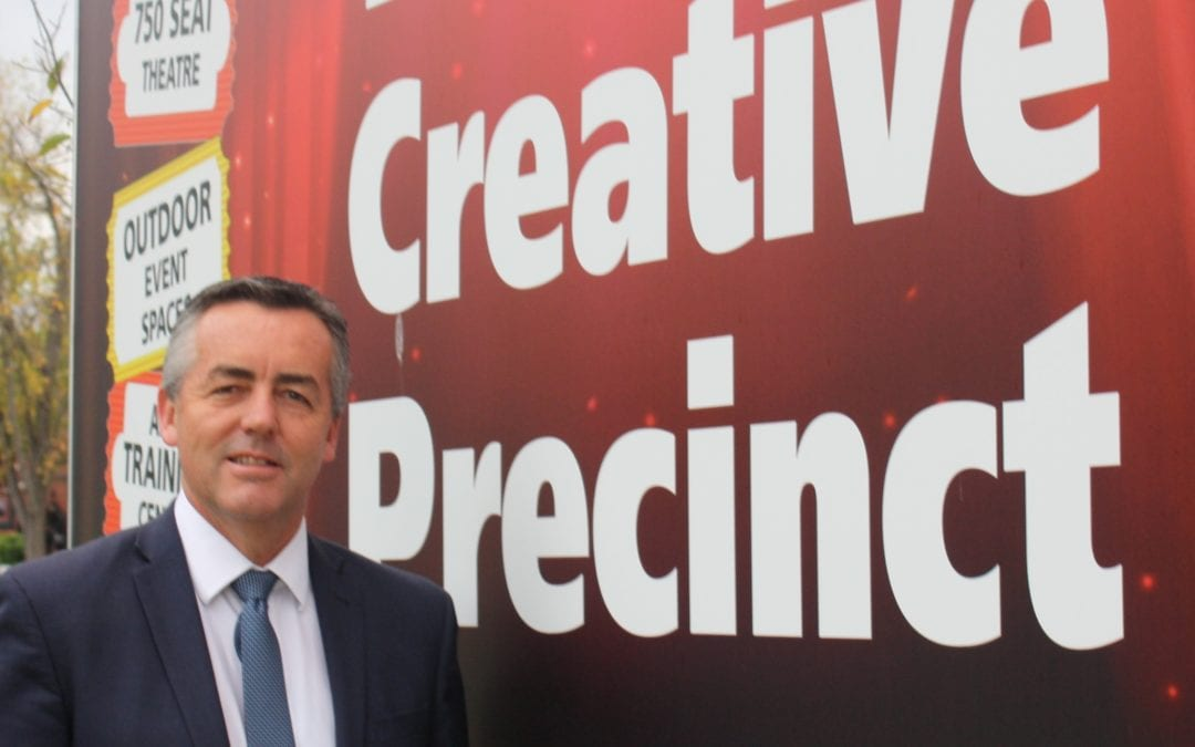 WORK BEGINS ON LATROBE CREATIVE PRECINCT