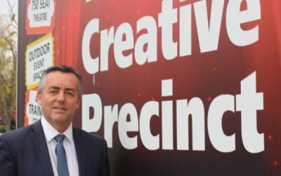 WORK BEGINS ON LATROBE CREATIVE PRECINCT