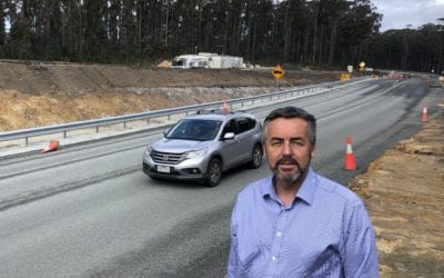 WORKS CONTINUING TO IMPROVE SAFETY OF PRINCES HIGHWAY