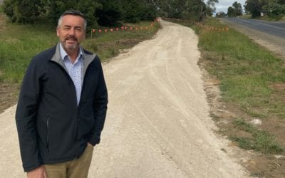 TRARALGON-MORWELL SHARED PATHWAY NEARS COMPLETION